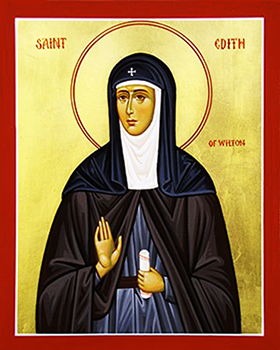 Icon of St. Edith of Wilton