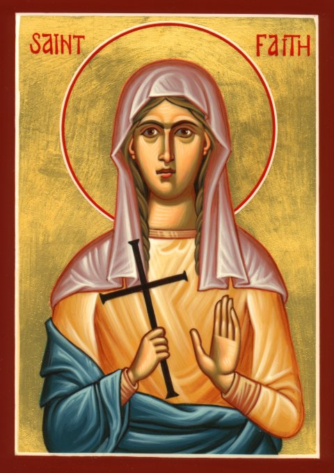 Icon of Saint Faith of Conques