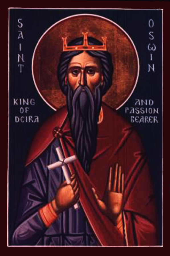 Icon of St. Oswin