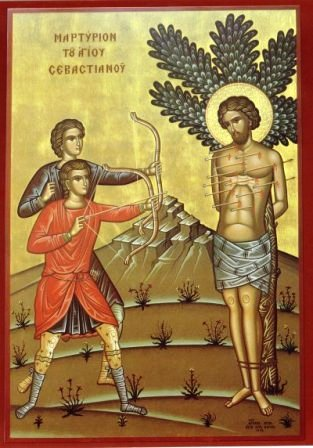 Icon of St. Sebastian