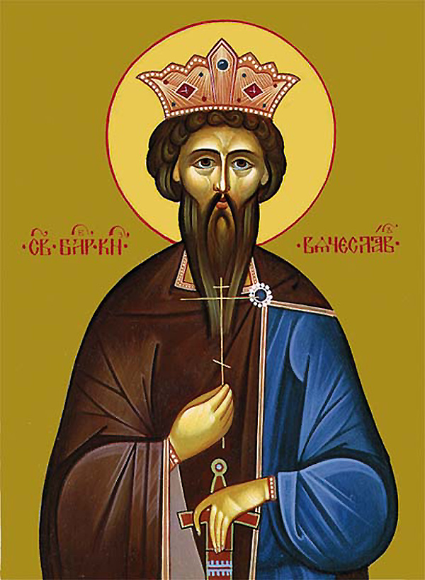 Icon of the holy martyr Wenceslaus